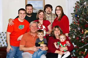 Our family today (Christmas 2012)