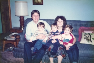 The family in 1989