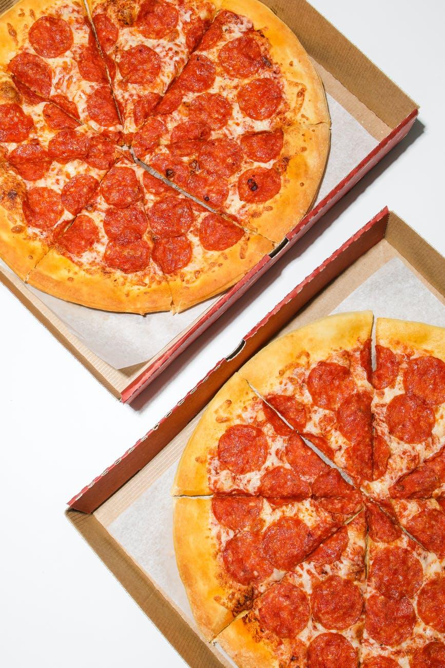 Pepperoni Pizzas